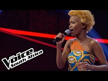 Busisiwe Mutlaka sings 'Rise Again' | The Blind Auditions | The Voice South Africa 2016