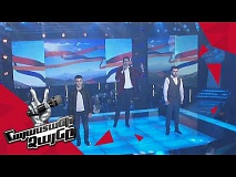 Arame & His Team  sing 'Ես քո զավակն եմ, Հայաստան' - Gala Concert – The Voice of Armenia – Season 4