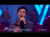 Sebastian James Hekneby - Earth Song (The Voice Norge 2017)