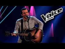 Franc Cinelli - The River | The Voice of Italy 2016: Blind Audition