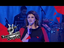 Christina Khalatova sings 'Enamorada' – Knockout – The Voice of Armenia – Season 4
