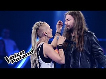 "Agata Hylińska vs Łukasz Łyczkowski - ""Come Together""  - The Voice of Poland 8"