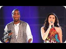 Dwaine Hayden Vs Aliesha Lobuczek: Battle Performance - The Voice UK 2016 - BBC One