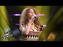 Casita – One Day I'll Fly Away | The voice of Holland | The Blind Auditions | Seizoen 8