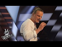 David van Rooij – Rock With You | The voice of Holland | The Blind Auditions | Seizoen 8