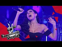 Lusine Arutyunova sings 'Run to You' – Knockout – The Voice of Armenia – Season 4