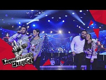 Sevak & His Team sing 'Новогодняя песня' - Gala Concert – The Voice of Armenia – Season 4