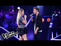 "Volodymir Borovskyi vs Oliwia Lachnik - ""Where The Wild Roses Grow""  - The Voice of Poland 8"