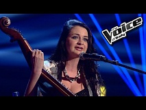 Kateryna Tsar'kova - Somewhere Only We Know | The Voice of Italy 2016: Blind Audition
