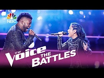 The Voice 2017 Battle - Chris Weaver vs. Kathrina Feigh: