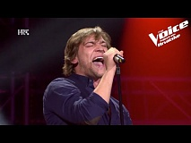 "Vjekoslav: ""Rock and Roll"" - The Voice of Croatia - Season2 - Blind Auditions5"