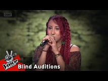 Ηλιάνα Σακελλαρίδη - Mad about you | 8o Blind Audition | The Voice of Greece