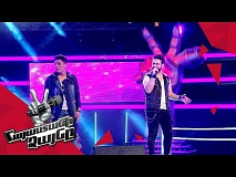 David Ray vs Alexander Sargsyan sing 'Feel' – Battle – The Voice of Armenia – Season 4