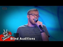 Δαβίδ Καναβός - Thinking out loud | 8o Blind Audition | The Voice of Greece