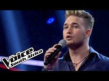 Jono Johansen sings 'Lay me Down'  | The Blind Auditions | The Voice South Africa 2016