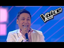Armand Curameng - Crazy Little Thing Called Love | The Voice of Italy 2016: Blind