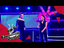 Eva Abrahamyan vs Anahit Hakobyan sing 'We Found Love' – Battle – The Voice of Armenia – Season 4