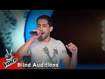 Στέλιος Ιωακίμ - Superstition | 12o Blind Audition | The Voice of Greece