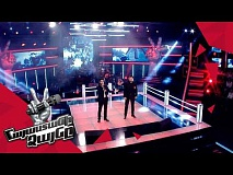 Tigran Karapetyan vs Khoren Galstyan sing 'Հայ զինվոր' - Battle – The Voice of Armenia – Season 4