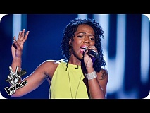 Brooklynne Richards performs 'Cry To Me'  - The Voice UK 2016: Blind Auditions 1