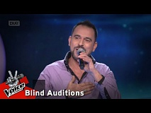Πάνος Τσίκος - Oh sole mio | 10o Blind Audition | The Voice of Greece