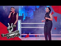 Sona  vs Susanna  sing 'You Shook Me All Night Long' - Battle – The Voice of Armenia - Season 4