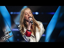 Maud Nieuwenhuis – Flashlight | The voice of Holland | The Blind Auditions | Seizoen 8