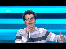 "Rino Petrović: ""Un' emozione per sempre"" - The Voice of Croatia - Season2 - Blind Auditions2"