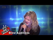 Βασιλική Παπαθεοχάρη - One moment in time | 8o Blind Audition | The Voice of Greece