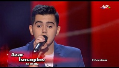 Azer Ismayilov - All of me | Blind Audition | The Voice of Azerbaijan 2015