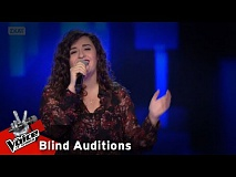 Παρασκευή Νικολαράκη - Make it rain | 12o Blind Audition | The Voice of Greece