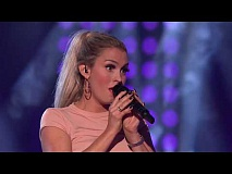 Dina Sæle Ek - Habits (Stay High) (The Voice Norge 2017)