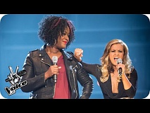 Janine Dyer Vs Mia Sylvester: Battle Performance - The Voice UK 2016 - BBC One