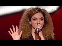 Narmin Behbudova - I Just Want To Make Love With You | Blind Audition | The Voice of Azerbaijan 2015