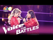 The Voice 2017 Battle - Brooke Simpson vs. Sophia Bollman: