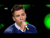 "Bruno Banfić: ""Lonely Boy"" - The Voice of Croatia - Season2 - Blind Auditions3"