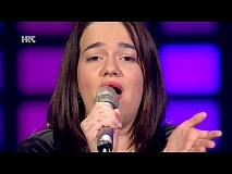 "Lucija Lučić: ""No One"" - The Voice of Croatia - Season2 - Blind Auditions3"