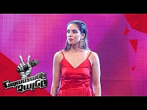 Ivonne Valdes Fernandez sings 'Vencer Al Amor' - Blind Auditions - The Voice of Armenia - Season 4