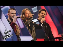 Florens vs. Robin vs. Sebastiën – In The Name Of Love | The voice of Holland | The Battle