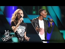 Cindy Bell vs. Gideon Luciana – Thinking Out Loud | The voice of Holland | The Battle | Seizoen 8