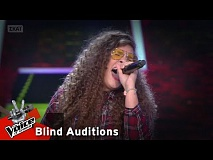 Αριστέα Αλεξανδράκη - Something's got a hold on me | 8o Blind Audition | The Voice of Greece