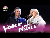 The Voice 2017 Chloe Kohanski and Blake Shelton - Finale: