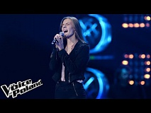 "Magdalena Dąbkowska - ""Nothing Compares 2 You"" - Przesłuchania w Ciemno - The Voice of Poland 8"