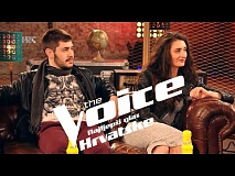 Dorotea i Vedran uoči dvoboja - The Voice of Croatia - Season2 - Battle2