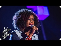 Janine Dyer performs 'Bridge Over Troubled Water' - The Voice UK 2016: Blind Auditions 2