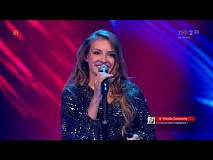 "Maja Kapłon - ""The Winner Takes It All"" - Live 1 - The Voice of Poland 8"
