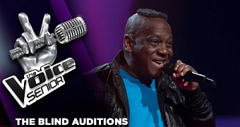Eddy Grovell – Let The Music Play | The Voice Senior 2018 | The Blind Auditions