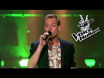 Constantijn Schaap - Not Over You (The Blind Auditions | The voice of Holland 2015)