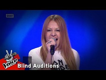 The Voice of Greece | Κυριακή Χατζηθεοδώρου | 4o Blind Audition