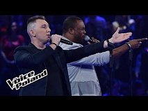 "Karol Lechowski vs Brian Fentress - ""Still Got The Blues""  - The Voice of Poland 8"